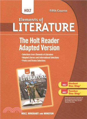The holt reader, adapted version [Fifth Course]