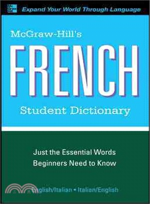 McGraw-Hill's French Student Dictionary