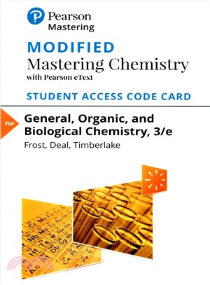 General, Organic, and Biological Chemistry Modified With Pearson Etext ― With Pearson Etext