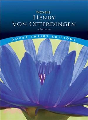 Henry Von Ofterdingen ─ A Romance