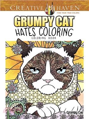 Grumpy Cat Hates Coloring Coloring Book