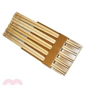 台灣紅檜筷子 5雙#2046