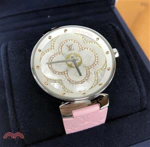 【Louis Vuitton 路易威登】QA021Z Tambour Moon 精鋼錶殼 39.5cm(不含錶帶)
