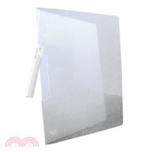 透明斜紋板文件夾