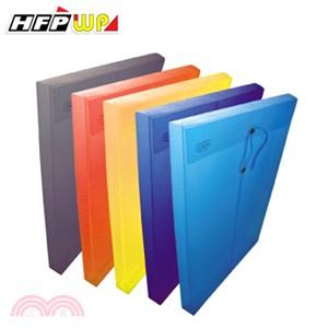 HFPWP 壓花透明文件袋 白