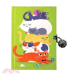 Cats Locked Diary