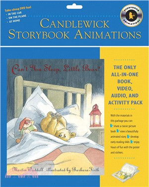 Can't You Sleep, Little Bear?: Candlewick Storybook Animations (1書+1DVD)