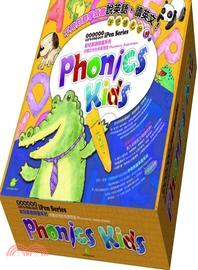 Phonics Kids點讀筆系列套書(6本書+6片DVD+6片CD+1隻點讀筆+海報)