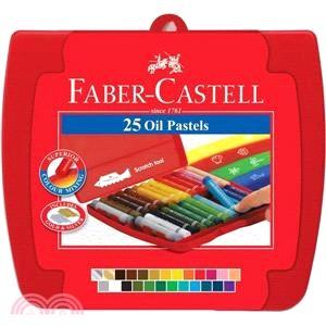 Faber-Castell 輝柏 粗芯油性粉彩條25色
