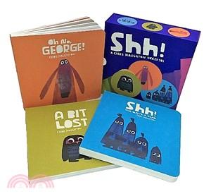 Chris Haughton 3 Board Books Set (3硬頁書入)