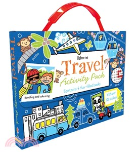 Usborne Travel Activity Pack (4 books)
