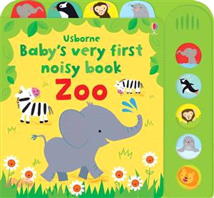 Baby's Very First Noisy Book Zoo (硬頁音效書)