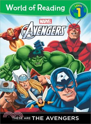 World of Reading: These are The Avengers (Level 1)
