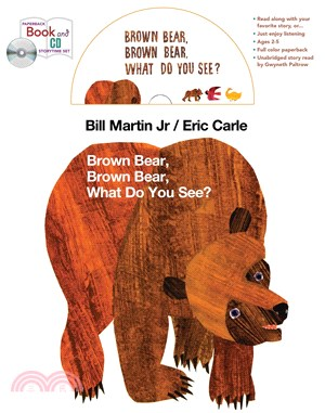 Brown Bear, Brown Bear, What Do You See? (1平裝+1CD)