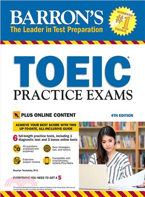 Toeic Practice Exams (4th Edition) ― With Downloadable Audio