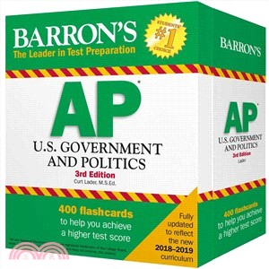 Barron's Ap U.s. Government and Politics Flash Cards