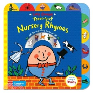 Lucy Cousins Treasury of Nursery Rhymes (1硬頁+1CD)