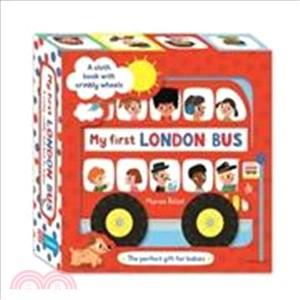 My First London Bus Cloth Book (布書)