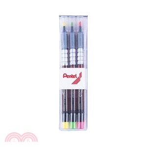 飛龍Pentel S512螢光筆3色組