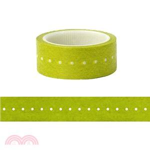短米紙膠帶 新綠時光