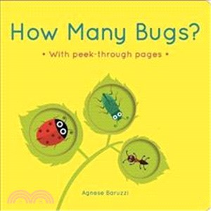 How Many Bugs?:A board book with peek-through pages