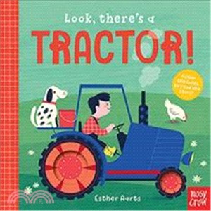 Look, There's a Tractor! (硬頁推拉書)