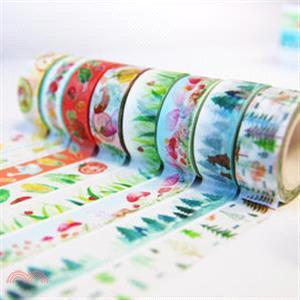 紙膠帶-瓢蟲青草