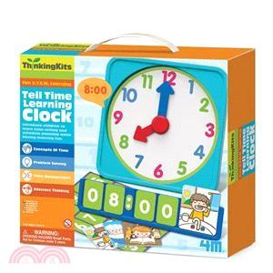 【4M】Tell Time Learning Clock 現在幾點鐘?