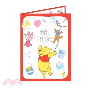 迪士尼系列精裝卡片-維尼
