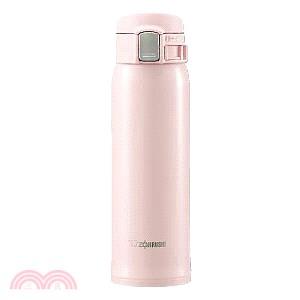象印 不鏽鋼OneTouch真空保溫杯480ml 粉色