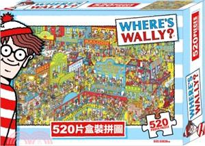 威利在哪裡520片盒裝拼圖(WW002)