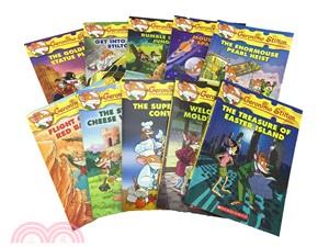 (51-60) Geronimo Stilton 10th Anniversary 10 Books Bundled Set