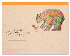 熊與鳥圖畫本(彩色版)