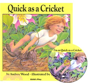 Quick as a Cricket (1平裝+1CD)(韓國JY版)